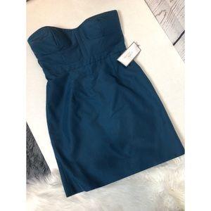 NEW J.Crew strapless mini dress